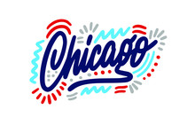 Chicago Handwritten City Name....