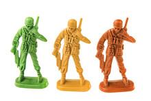 Plastic Toy Army Chief Talking...