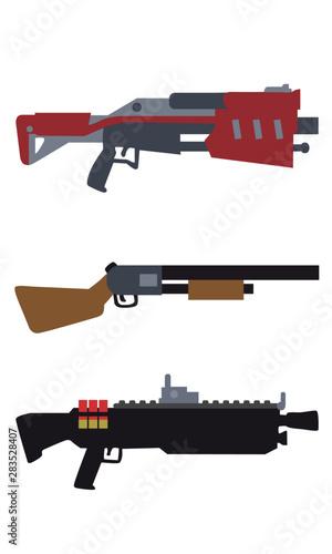 Arma Doze - ilustração do game Fortnite Battle Royale Canvas Print