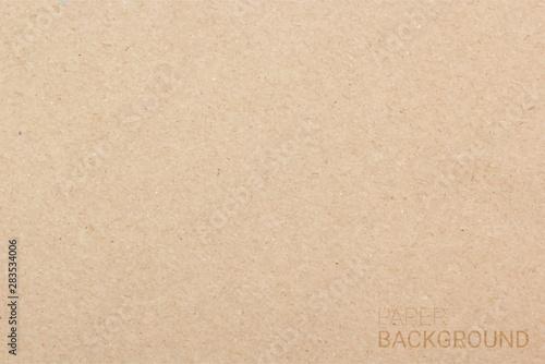 Obraz na plátne  Brown paper texture background, Vector illustration eps 10