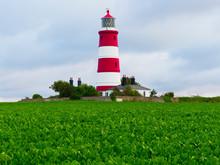 Happisburgh Lighthouse Against...