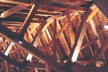 Wooden Roof Structure, Wooden ...