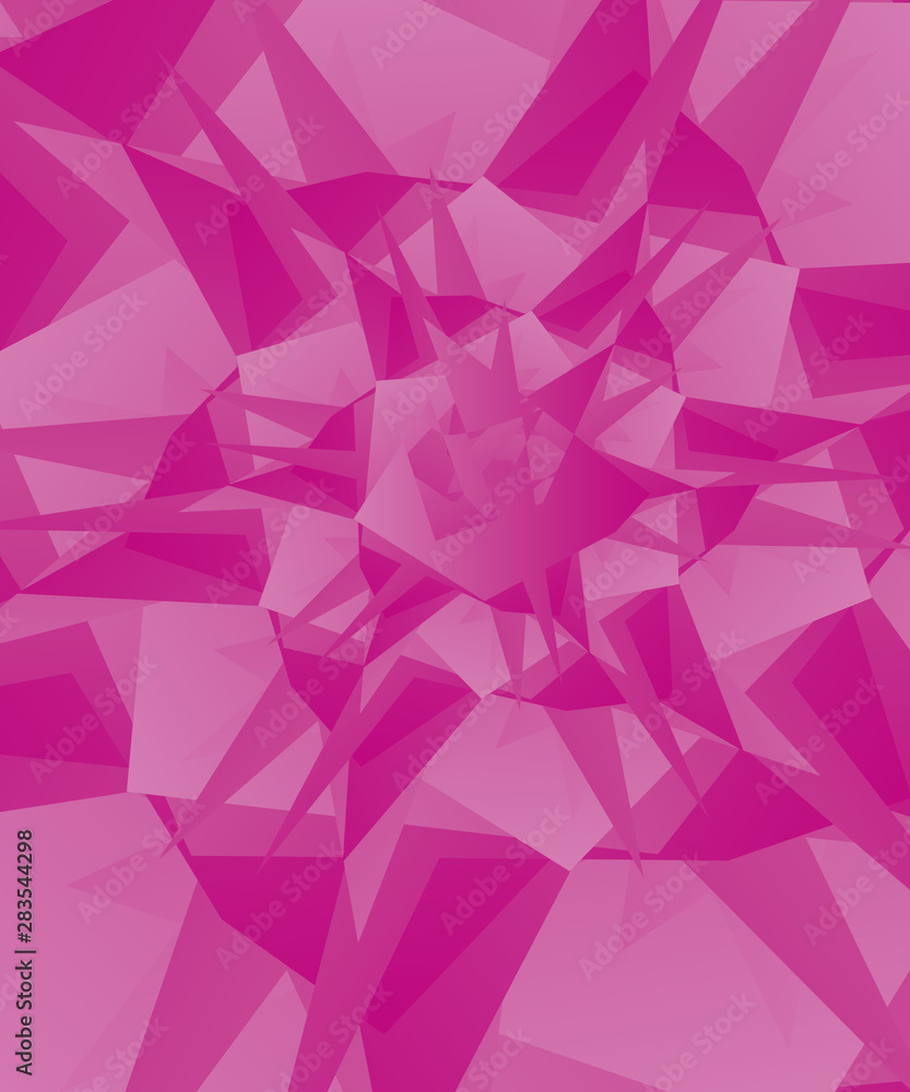 Abstract background in fuchsia tones. Flower concept