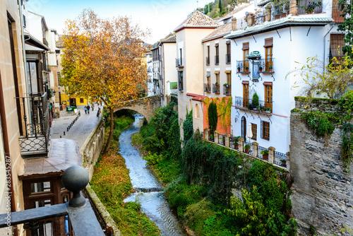 Granada City, Granada, Andalusia, Spain, Europe Fotobehang