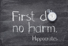 Do No Harm Hippocrates