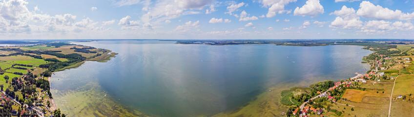 Jezioro Śniardwy, Mazury, Polska.