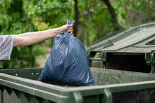 Male Dumping Waste Package Int...