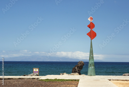 Scenic View of a sculpture in Tenerife