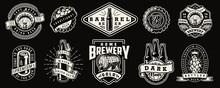 Vintage Monochrome Brewery Pri...