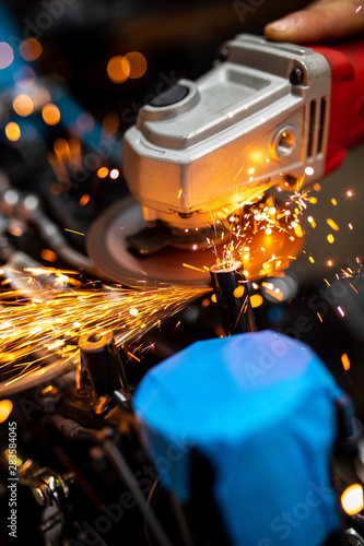 Printed kitchen splashbacks Beer / Cider automatic, background, carbide, circle, circular, closeup, cut, detail, diamond, electric, engineering, equipment, fabric, fabrication, factory, grind, grinder, grindstone, hand, industrial, industry,