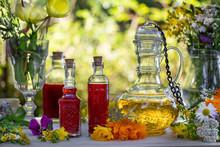 Bottles Of St. John's Wort And...