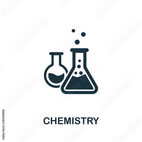Photo Chemistry vector icon symbol