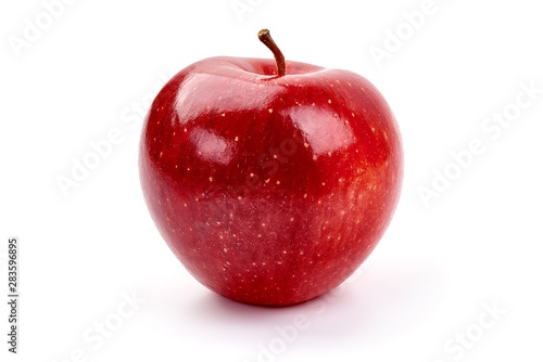 Poster Pierre, Sable Fresh Cameo apple, isolated on white background