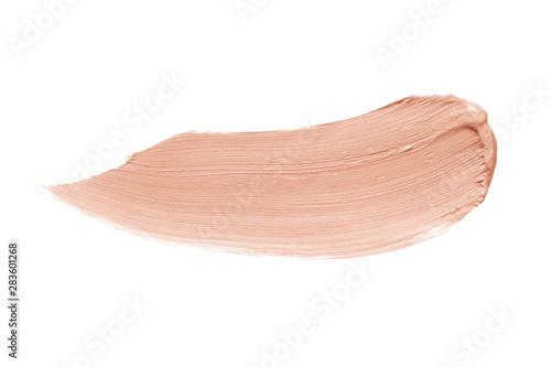 Foto Concealer, corrector brush stroke