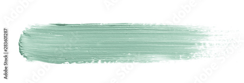 Fototapeta  Color corrector stroke isolated on white background