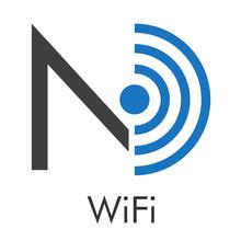 Logotipo Abstracto Con Texto W...