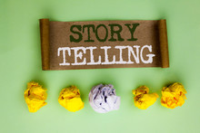 Handwriting Text Story Telling...