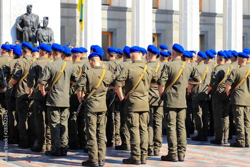 Fotografía  Armed forces of Ukraine, National Guard, Kyiv