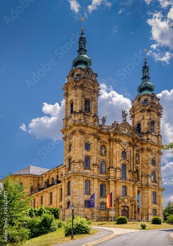 The Basilica of the Fourteen Holy Helpers Germany Wallpaper Mural