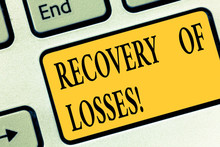 Writing Note Showing Recovery ...