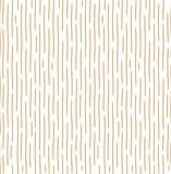 Geometryczny wzór z falistymi liniami. Bezszwowe tło wektor. Tekstura biało-złota. Prosta grafika kratowa - 283672414