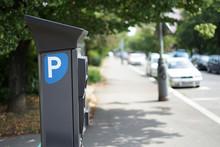 Modern Parking Pay Station On ...