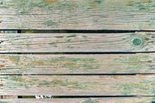 Fragment Of Wooden Bridge Of P...