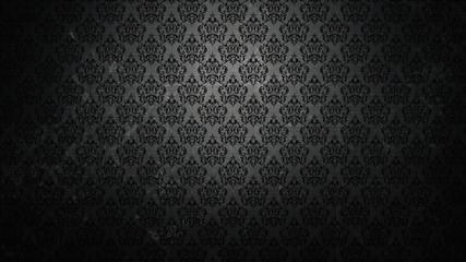 Dark wallpaper in a retro style
