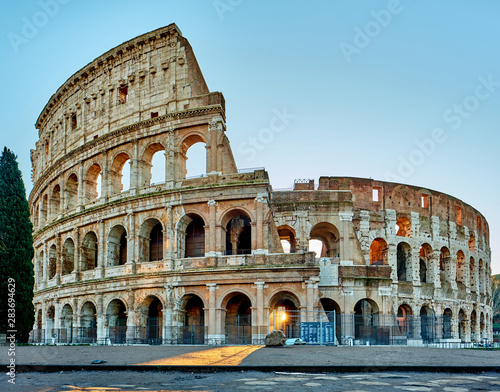 Fototapety, obrazy: Colosseum at sunrise in Rome, Italy