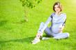 Leinwandbild Motiv gymnastics for pregnant women