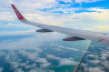Air Asia Aircraft Over Brunei