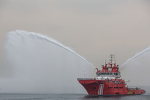 Fire Fighting And Rescue Ship