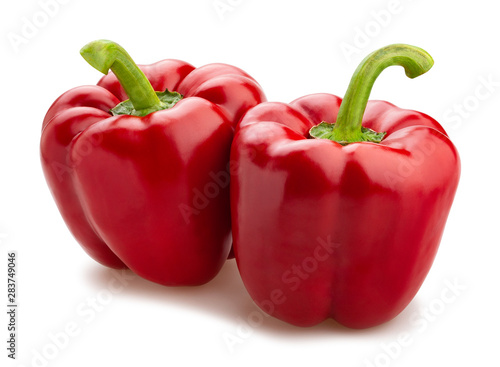 Fotografia deep red bell pepper
