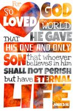 For God So Loved The World (John 3:16)