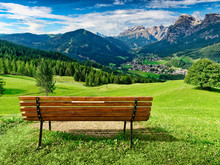 Bench For Enjoying Amzing Pano...
