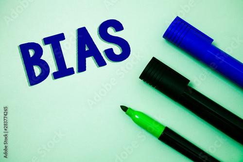 Handwriting text writing Bias Canvas Print
