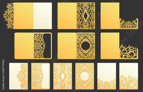 Ornamental pocket folder Wallpaper Mural