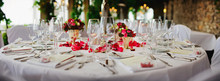 Wedding - Decorated Table At L...