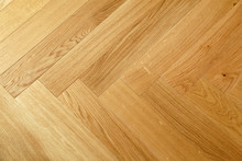 Seamless Wood Parquet Texture, Chevron Sand Color