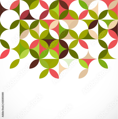 Fototapety, obrazy: abstract colorful floral pattern concept, vector illustration