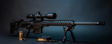 Modern Powerful Sniper Rifle W...