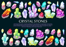 Crystal Stones, Precious Gems And Jewelry Minerals