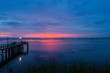sunset on Mobile Bay