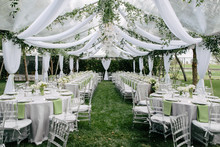 Outdoor Summer Wedding Tent De...