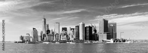 Pinturas sobre lienzo  Panoramic view of Lower Manhattan, New York City, USA
