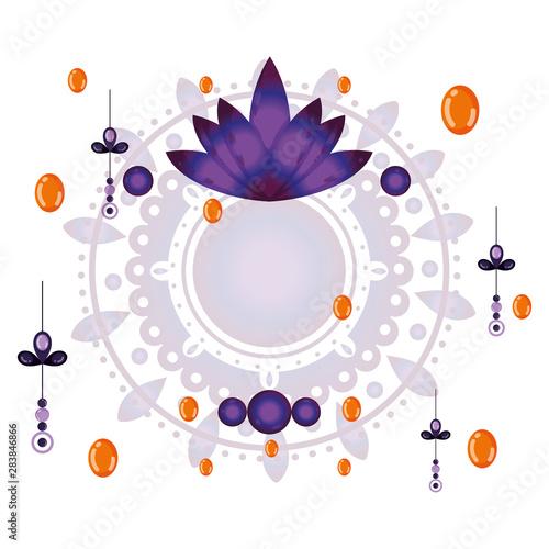 Photo  Amulet of bohemic concept vector design