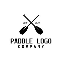 Paddle Retro Logo Design Inspi...