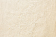 Old Pale Brown Crumpled Paper Background Texture
