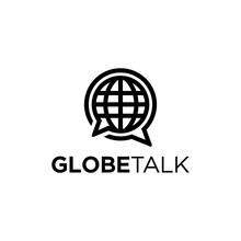 Globe Logo With Two Bubble Talk To Company News News