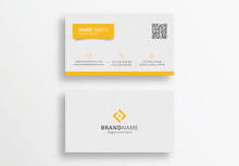 Modern Clean Corporate Business Card Design Template